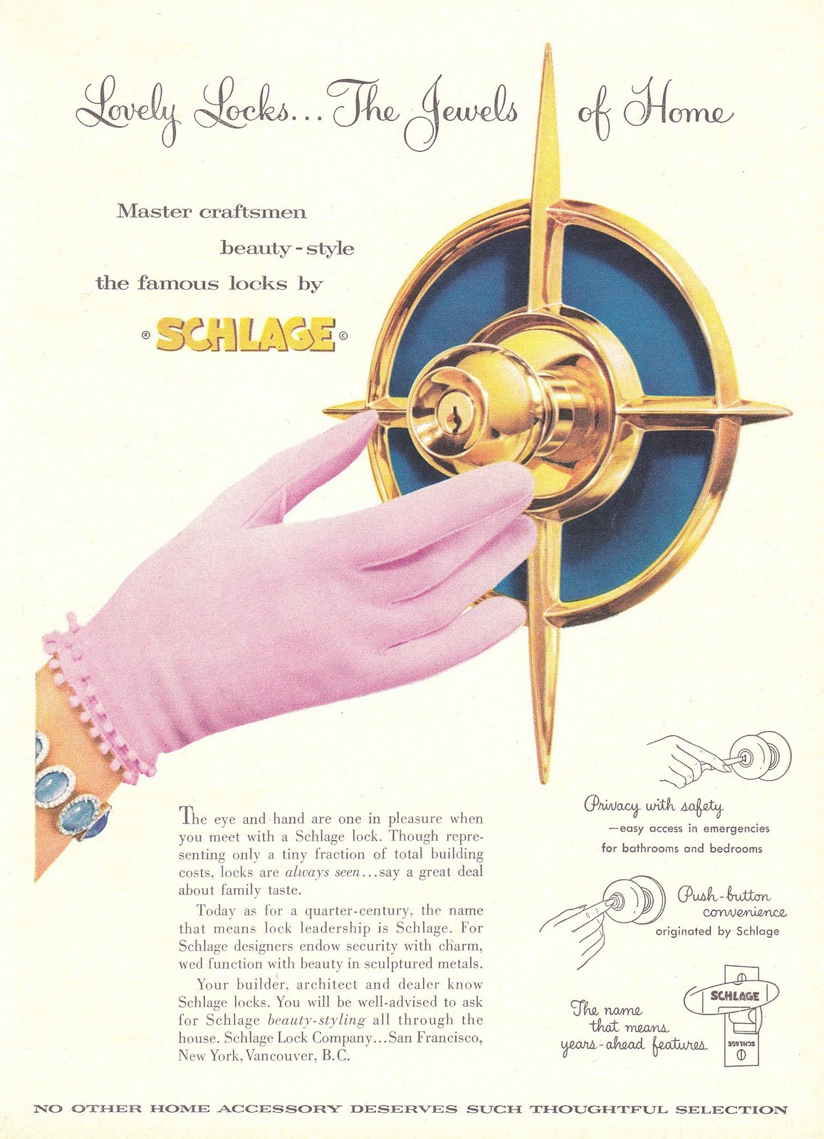 Mad For Mid Century Schlage Mid Century Backplates