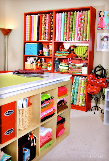 Designing A Sewing Room: Erika's Chiquis: Sewing Room Inspiration