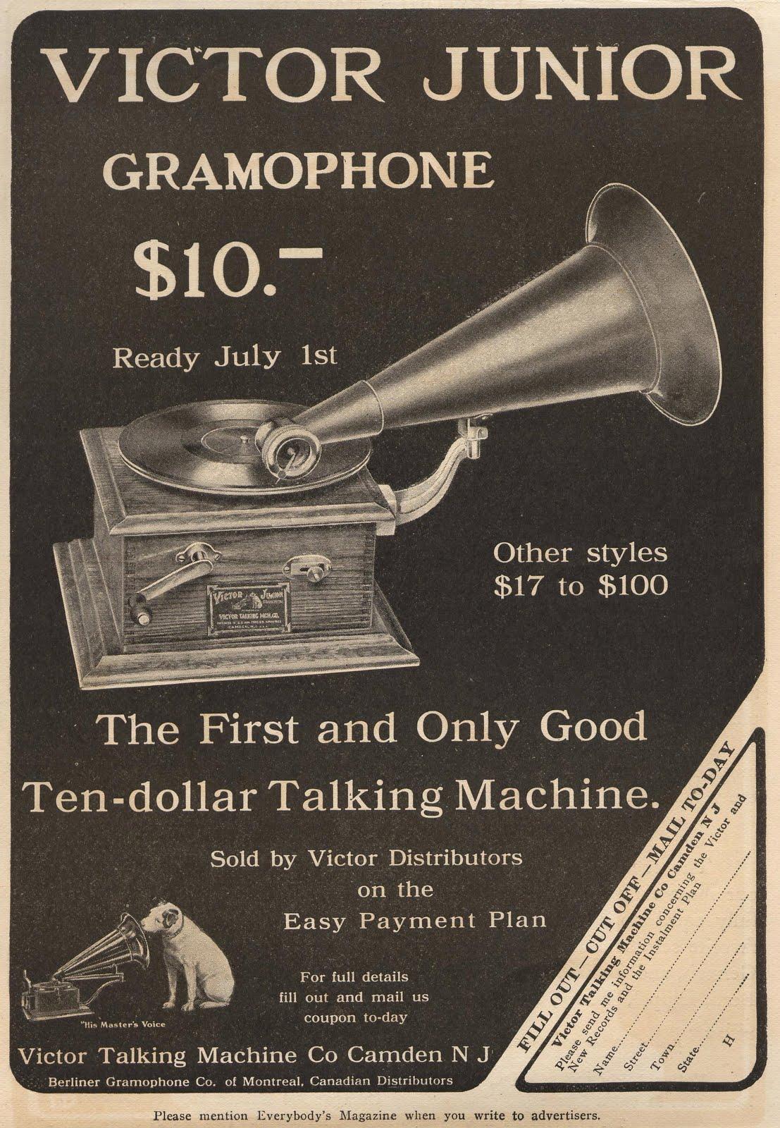 Vintage Victor Records 80