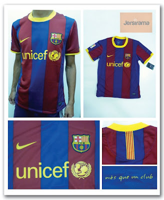 099159251 Barcelona Home   Away Jersey (La Liga Season 2010 2011)
