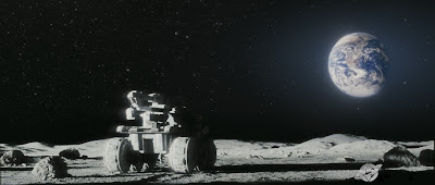 GERTY robot on the Moon - Moon Movie
