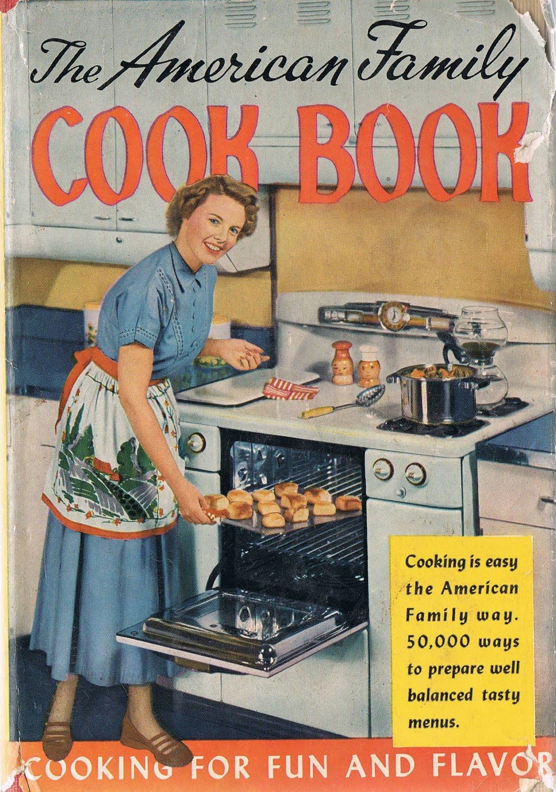 Razz My Berries Retro Cooking: 1950s Cookbook Images!