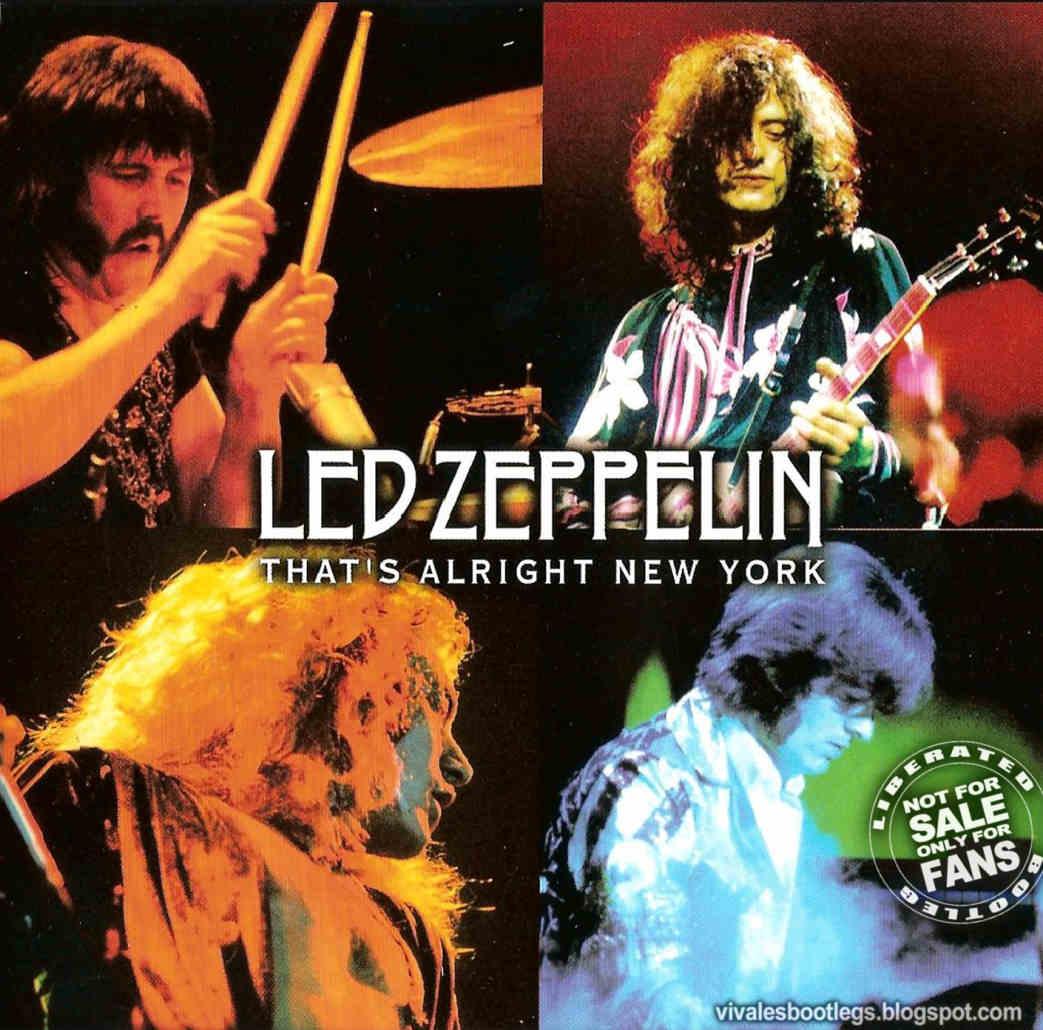 Led Zeppelin That S Alright New York Madison Square