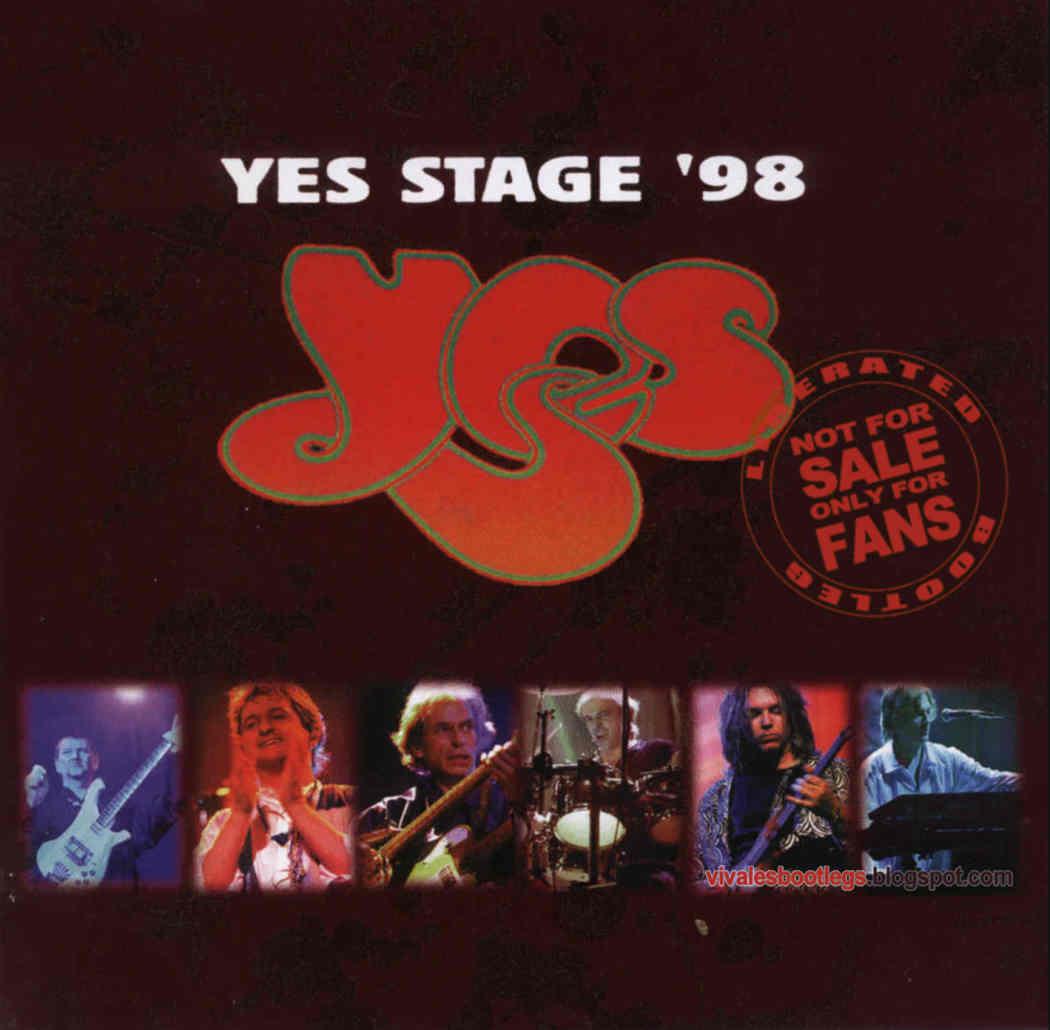 Yes: Yes Stage '98  Sala Kongresowa, Warsaw, Poland - March 26, 1998