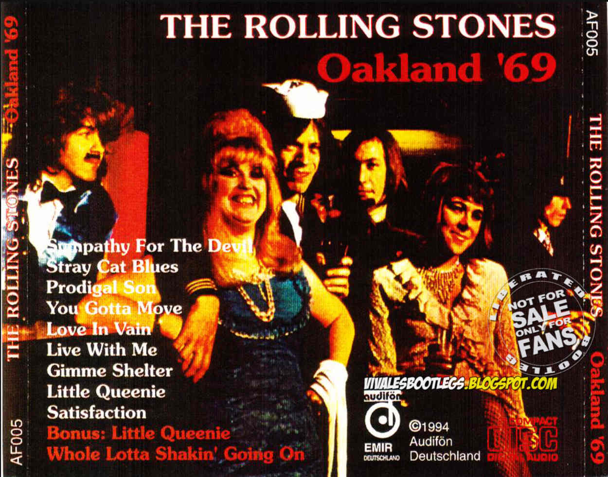 The Rolling Stones: Oakland '69  Alameda County Coliseum, Oakland