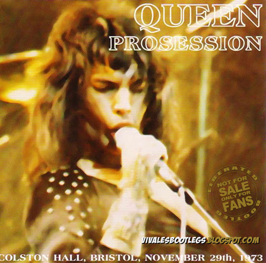 Queen: Procession  Colston Hall, Bristol, UK 1973  (Mp3 @320 kbps