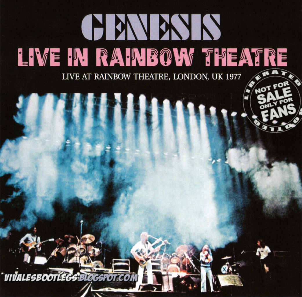 Genesis: Live In Rainbow Theatre. London, UK 1977. (Double