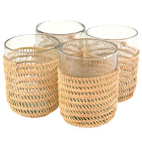 59e1ffd0d8b6 From TenThousandVillages.ca  Recycled Glass Drinking Glasses