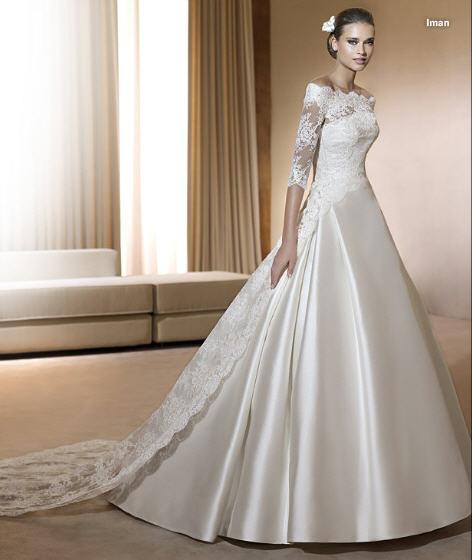 Pronovias Real Wedding Inspiration: Inspired Weddings: Wedding Gowns: Pronovias' 2011 Collection