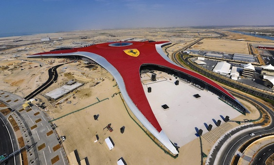 Experience life in the fast lane at Abu Dhabi Ferrari World
