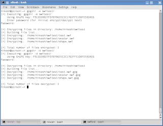 Recursively Encrypt / Decrypt Directories using gpgdir on Linux