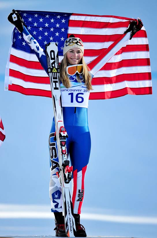 Inside And Outside The Match Lindsey Vonn Outside The Match