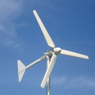 homemade wind turbine car alternator