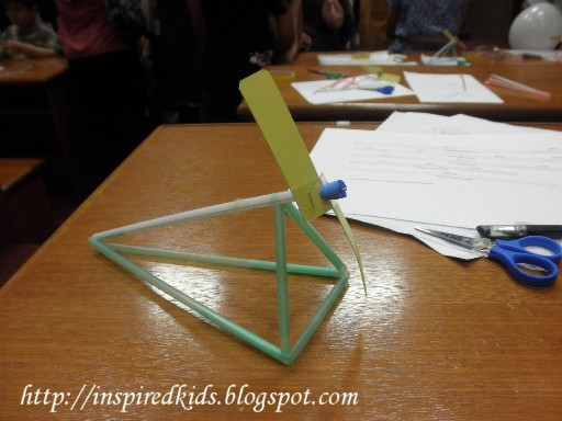 Inspiredkids 21 12 10 Making A Wind Powered Straw Car