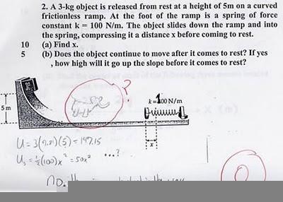 jawaban ujian lucu