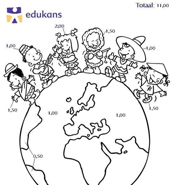 ieder heeft recht op onderwijs kleurplaat
