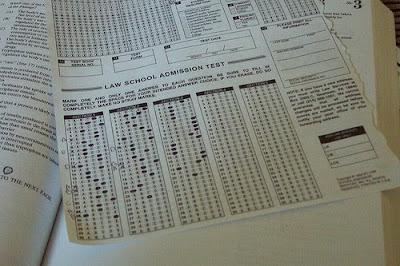 LSAT Blog Diagnostic Test Bubble Sheet