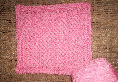 crocheted face cloths