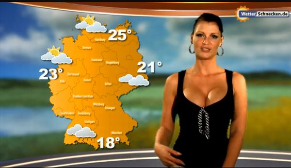 Maira rothe weather girl - 3 part 10