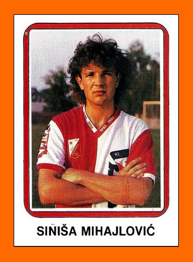 Sinisa Mihajlovic Red Star Belgrade