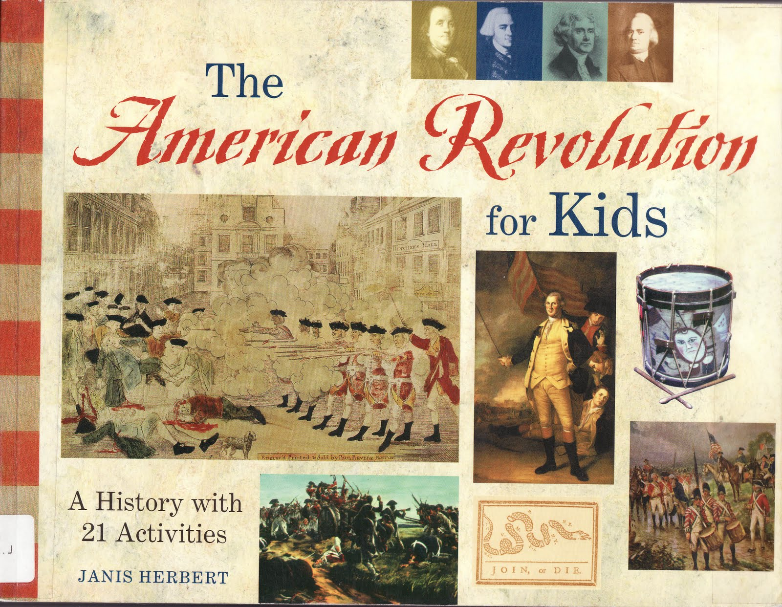 The Marlowe Bookshelf The American Revolution For Kids