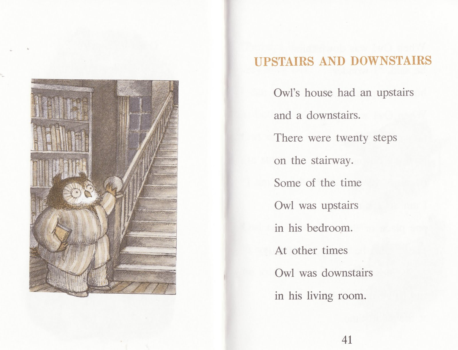 The Marlowe Bookshelf Owl At Home