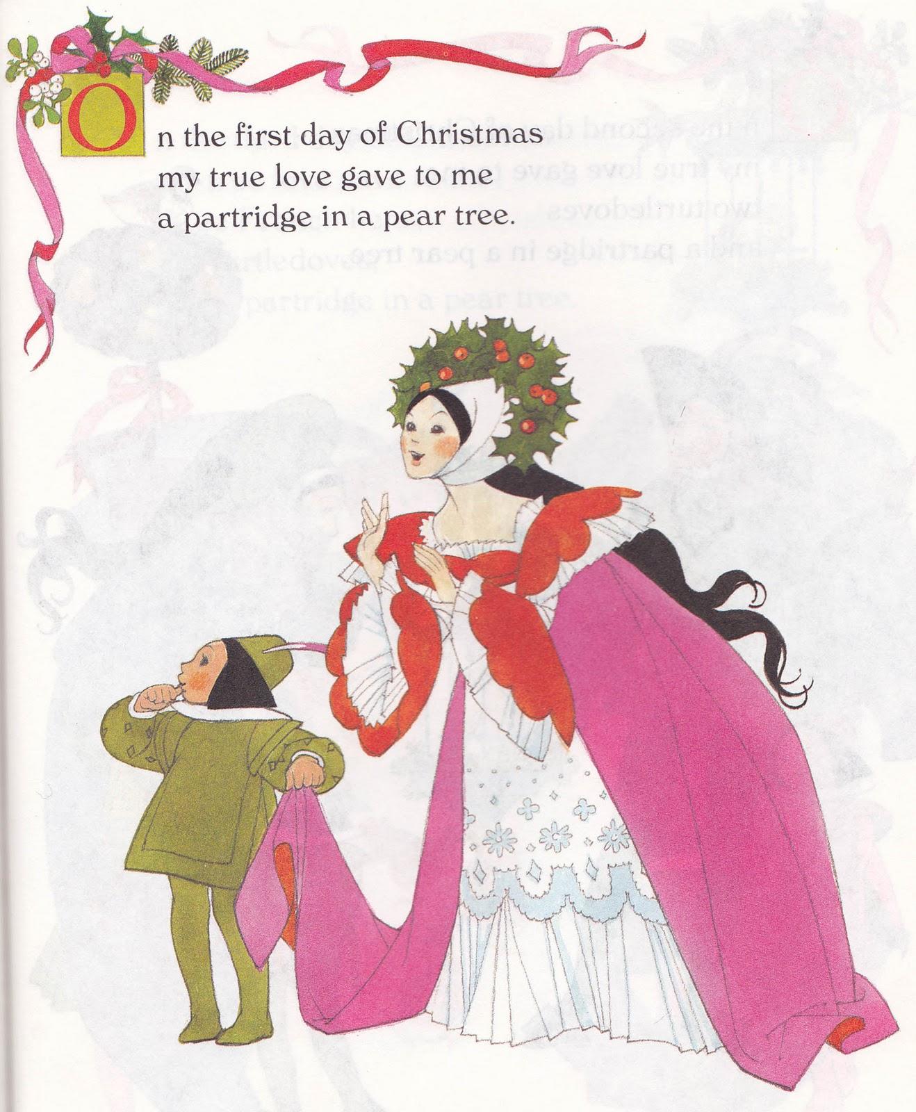 Twelve Days Of Christmas Carolers: The Marlowe Bookshelf: The Twelve Days Of Christmas A