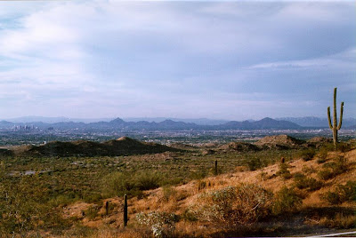 Sonoran Desert outside Phoenix AZ