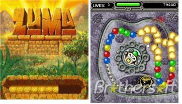 Zuma games free download for java supported full touchscreen.