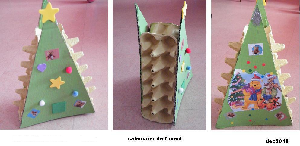 Calendrier De Lavent Facile.Fabriquer Calendrier De L Avent Facile