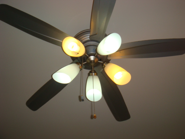 : Fanco ceiling fan with 5 light kits