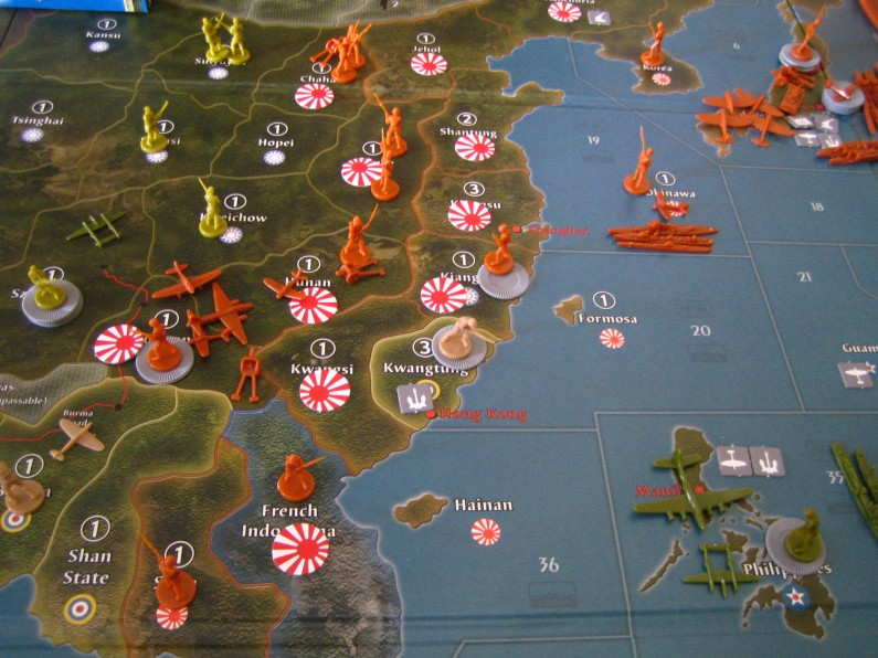 Hiew's Boardgame Blog: Axis & Allies Global 1940