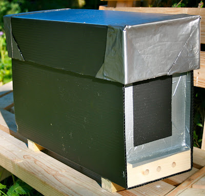 Diary of a novice bee-keeper: Nuc Box made out of correx ...
