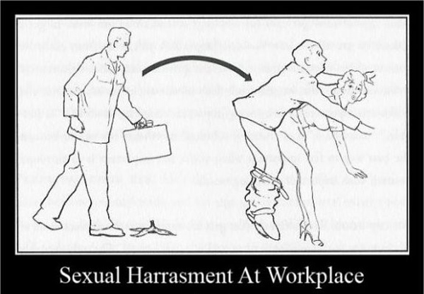 sexual harassment against males