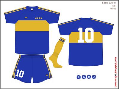 Uniformes Dream League Soccer Boca 2020