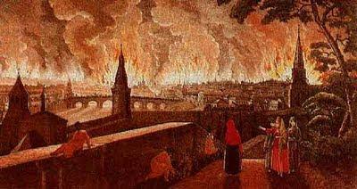 Incendio Mosca