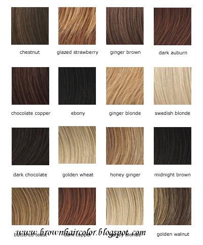 Rown Hair Color Shades