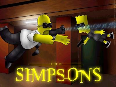 Matrix, Los Simpson