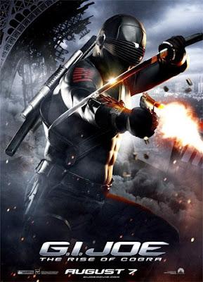 Poster de Snake Eyes en G.I.Joe