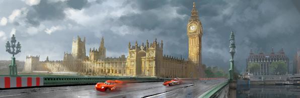 Cars 2 contará con Londres como uno de los escenarios de la película