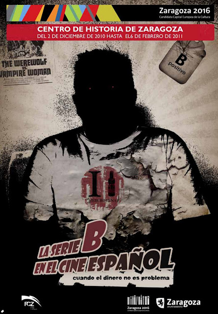 Cartel Exposición La Serie B en el cine español