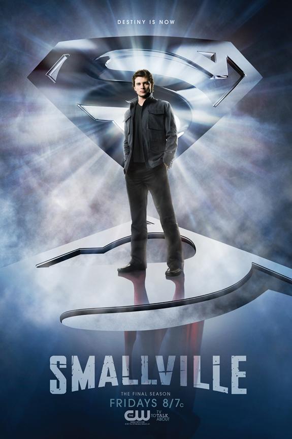 Poster promocional de Smallville