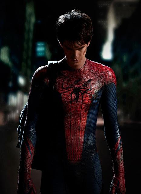 Andrew Garfield es Peter Parker/ Spider-man