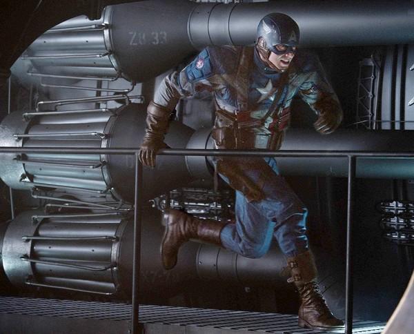 Imagen de L.A. Times de Capitán América. El primer vengador