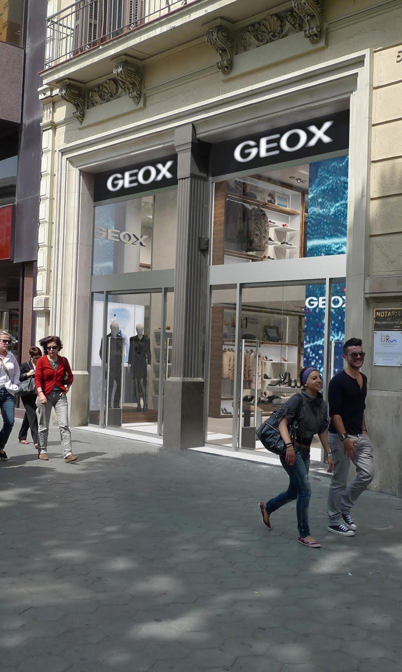 Barcelona Nueva Fashionamp; Store Flagship Beauty NowGeox Su En Inaugura zSpUMV