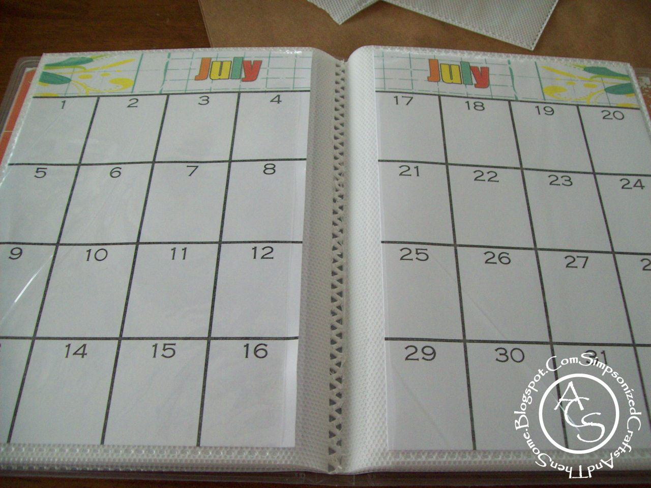 how to make a calendar using my photos