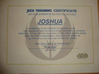 Super mommy no cape required star wars jedi training for Star wars jedi certificate template free