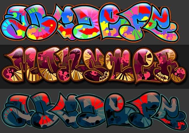 graffiti 3d wildstyle: Graffiti Creator 2 Alphabet