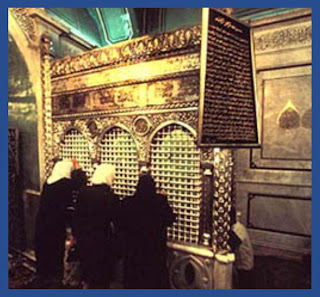 The Grave of Hazrat ZAKARIA A.S