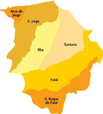 mapa santana madeira O Refúgio das Faias   Casa para férias na Madeira: LOCALIZAÇÃO E  mapa santana madeira